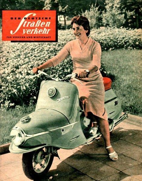 Cezeta Electric Scooter - Hotel Josef