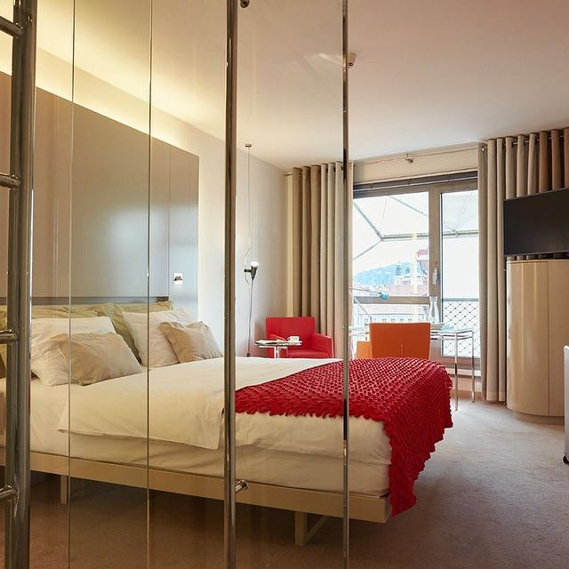 Book a room at Hotel Josef and wake up in our airy room filled with natural…